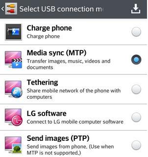 Cum transferi muzică din iTunes pe un telefon Android modul de transfer fisiere