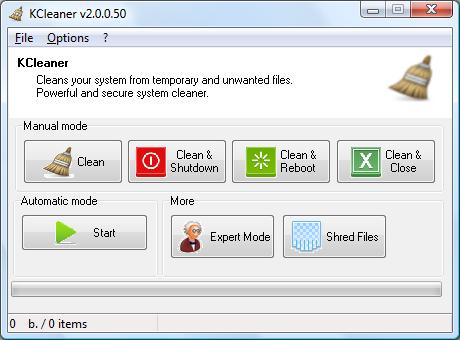 Program de curățat calculatorul sau laptopul