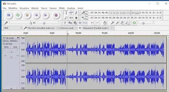 Programe pentru înregistrat muzică pe calculator Audacity