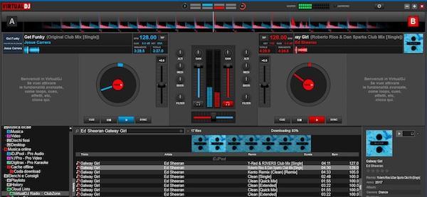 Programe pentru înregistrat muzică pe calculator Virtual DJ
