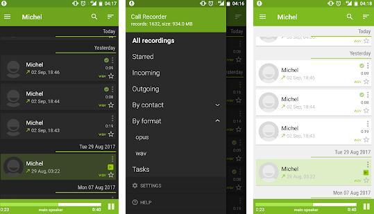 Înregistrare apeluri telefonice Android sau iPhone Call Recorder