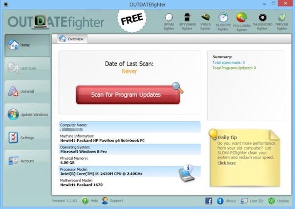 Actualizare programe pe PC sau laptop