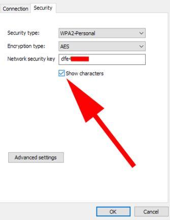 Află parola wifi la care ești conectat pe PC sau laptop afisare parola caractere