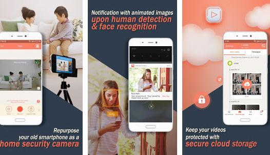 Aplicații pentru camere de supraveghere Android AtHome Camera