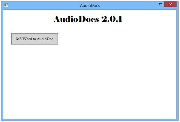 Convertește documente Word în audio pe PC sau laptop