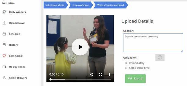 Cum încarci videoclipuri pe Instagram din PC sau laptop finalizare proces