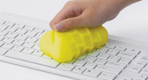 Curăță tastatura la laptop sau PC în siguranță curatare taste