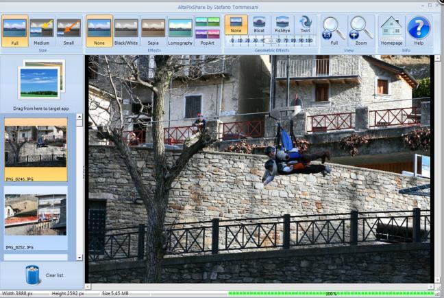 Editează, redimensionează sau partajează imagini