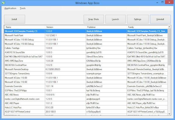 Gestionează aplicațiile din Windows 8 direct de pe desktop
