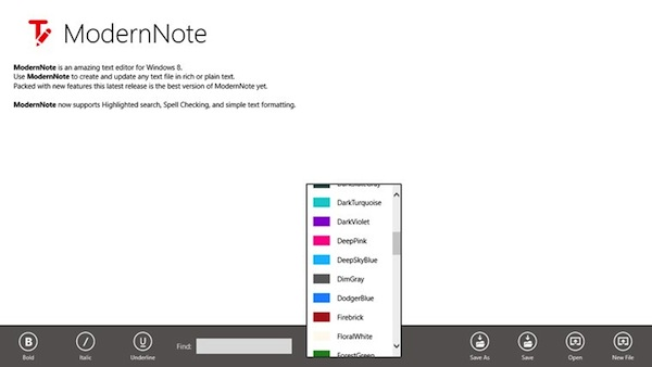 Notepad gratuit pentru PC sau laptop cu Windows 8