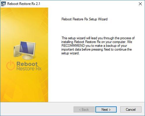 Resetare calculator sau laptop prin repornire Reboot Restore Rx
