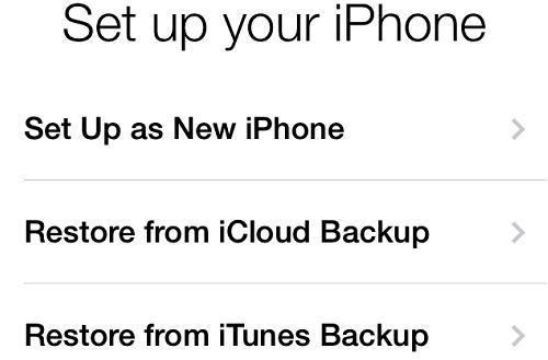 Resetare parola (codul de blocare) iPhone sau iPad Restaurare din backup