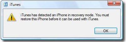 Resetare parola (codul de blocare) iPhone sau iPad modul de recuperare