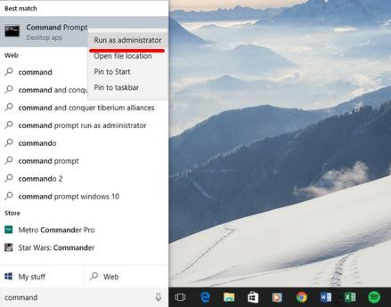 Rezolva problemele de actualizare la Windows promptul de comanda