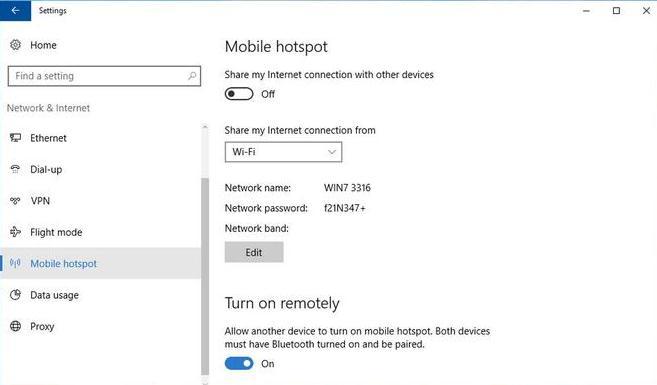 Transforma laptopul în router wireless Windows mobile hotspot
