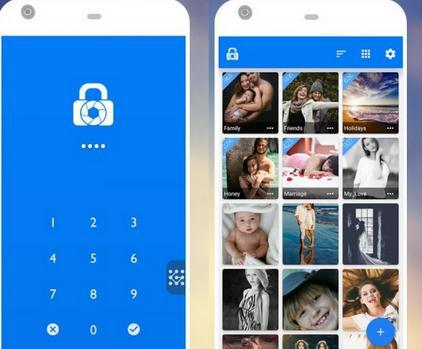 Aplicație care ascunde pozele