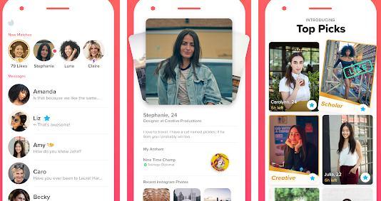Aplicații de făcut prieteni pentru Android sau iPhone Tinder