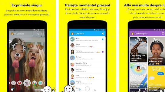 Aplicații de făcut videoclipuri haioase amuzante Snapchat