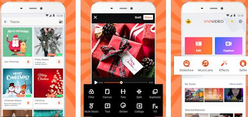 Aplicații de pus muzică pe video Android sau iPhone VivaVideo
