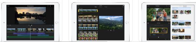 Aplicații de pus muzică pe video Android sau iPhone iMovie