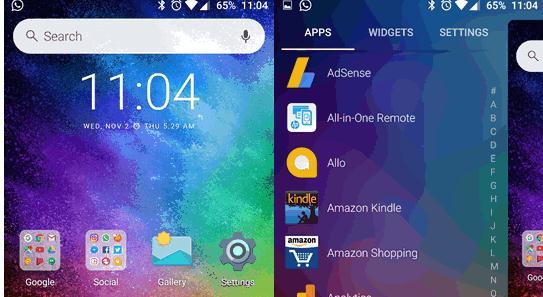 Cel mai bun Launcher pentru Android Evie lansator Android