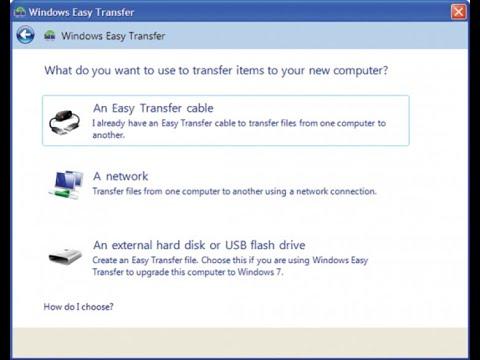Configurare laptop: Transferă fișiere de pe un PC sau laptop vechi