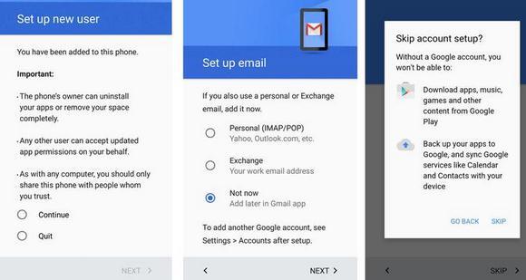 Cum faci un cont de utilizator pe Android configurare setari