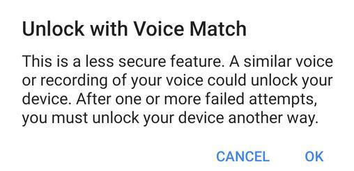 Deblocare telefon cu Google Assistant setari la telefon