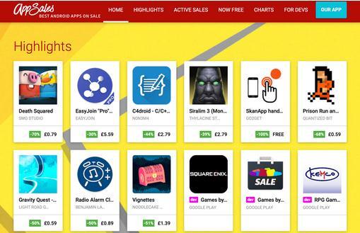 Descarcă aplicații Android gratis pe telefon sau tabletă AppSales