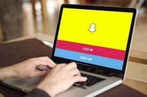 Folosește Snapchat pe calculator sau laptop