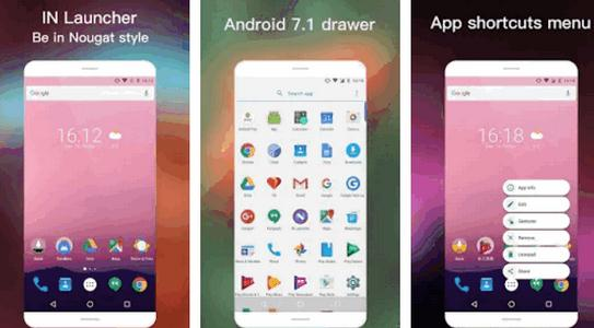 Launchere Android cel mai bun lansator pentru Android IN Launcher