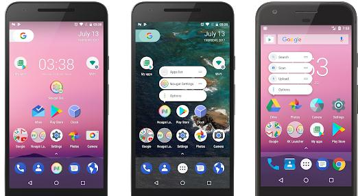 Launchere Android cel mai bun lansator pentru Android Nougat Launcher