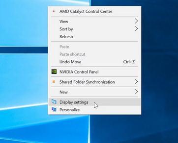 Mărește sau micșorează textul în Windows sau browser Windows 10