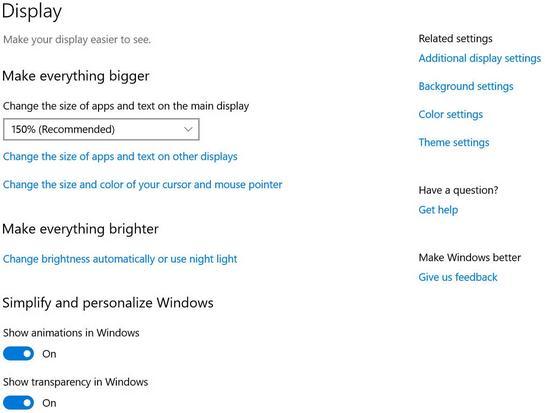 Mărește sau micșorează textul în Windows sau browser probleme cu vederea setari