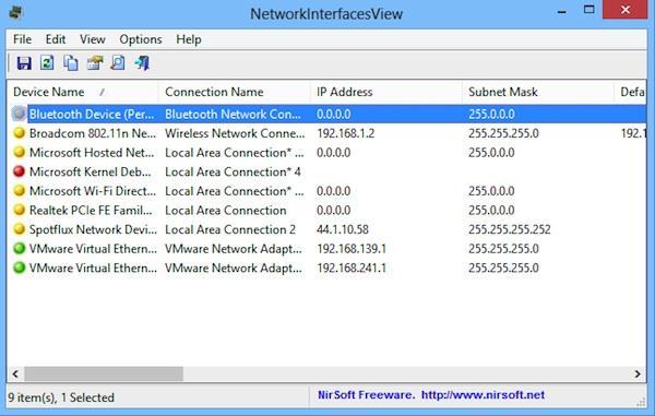 Mai multe informații despre placa de rețea wireless