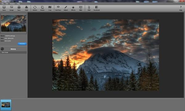 Program pentru editare poze gratis pe PC PhotoSun 14