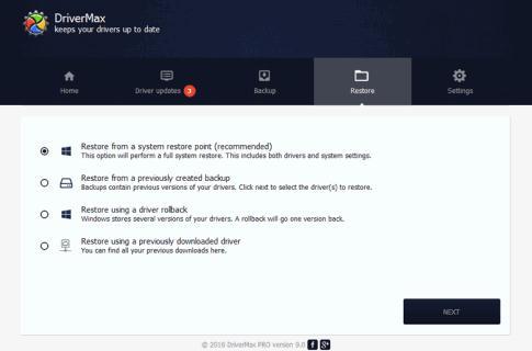 Programe pentru update drivere DriverMax