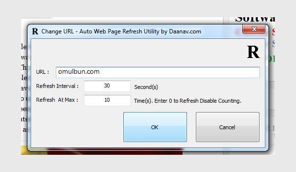 Refresh automat la o pagină web Chrome sau Mozilla