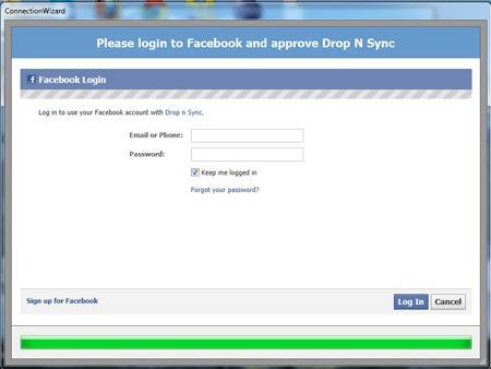 Sincronizează sau descarcă albumele foto din Facebook