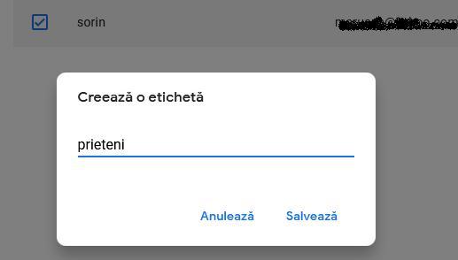 Trimite email la mai multe adrese persoane cu Gmail setari lista de etichete