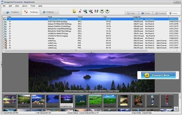 Vizualizează, editează, și convertește 500 formate de imagine