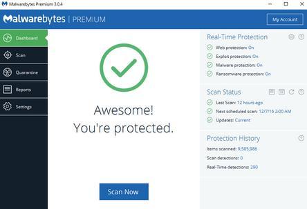 Antivirus 2019 programe de șters viruși din calculator Malwarebytes Anti-malware