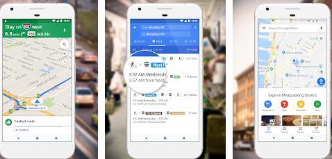 Aplicații GPS fără internet pentru Android sau iPhone Google Maps