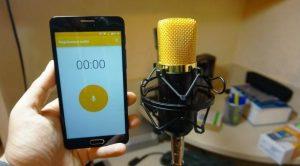 Aplicații de înregistrat vocea pentru telefon Android