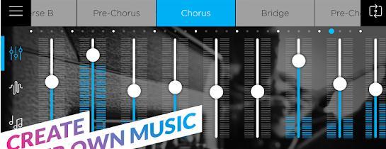 Aplicații de compus muzică la pian, orgă, sau chitară Music Maker Jam