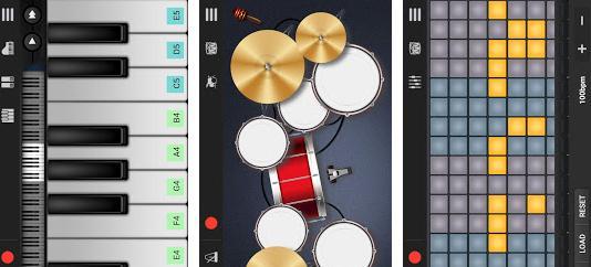 Aplicații de compus muzică la pian, orgă, sau chitară Walk Band – Muzică Multitrackuri