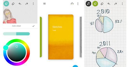 Aplicații de desenat pe telefon Android sau iPhone Bamboo Paper