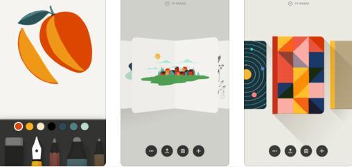 Aplicații de desenat pe telefon Android sau iPhone Paper