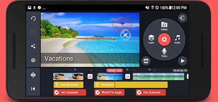 Aplicații de editat video pentru telefon Android sau iPhone KineMaster