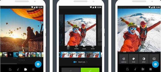 Aplicații de editat video pentru telefon Android sau iPhone Quik - GoPro Editor